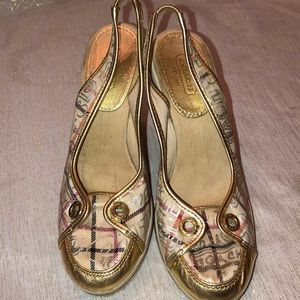 Coach Wedge Shoes Size 6.5